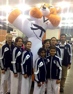 Taekwondo Team at 2014 US Nationals