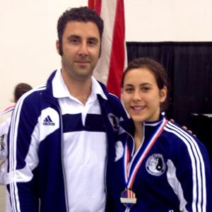 Savannah Silva wins Gold in the 2014 US Nationals and is named as a member of the 2015 US Team.